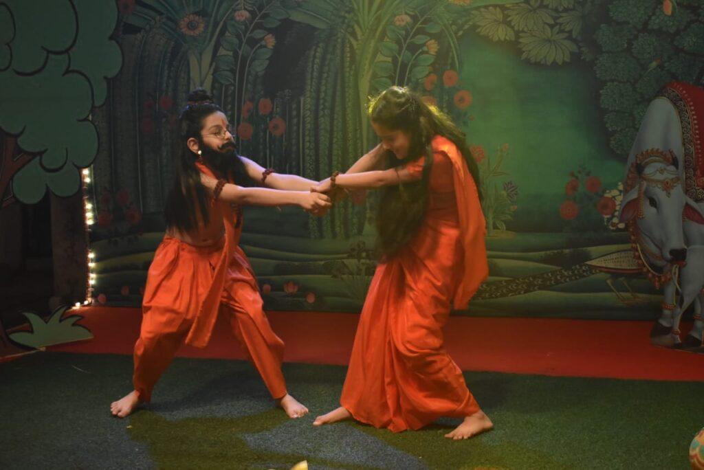 Yeh Rishta Kya Kehlata Hai Ram Leela Sequence. Kartik Naira from Yeh Rishta Kya Kehlata Hai Latest Pic.