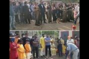 Fire Drill on TV Show Set